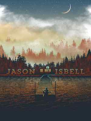 Jason Isbell 2015 Official 2015 Tour Poster Fall Variant Signed Artist Edition
