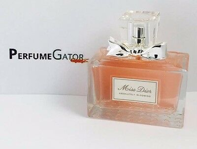 Miss Dior Absolutely Blooming by Christian Dior Eau De Parfum 3.4oz100ml UNBOXED