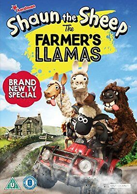 Shaun the Sheep The Farmers Llamas  New (DVD  2016)