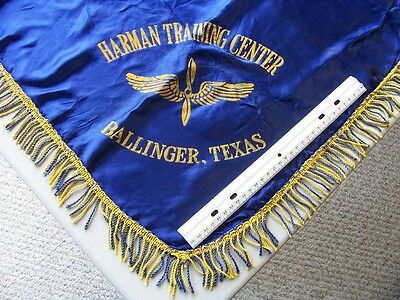 Wwii Harman Training Center  Ballinger,texas * Us Army Air Corps Banner