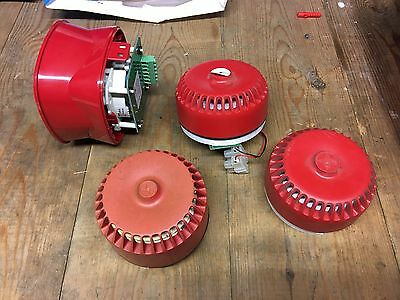 4 X Assorted Fire Alarm Sounders