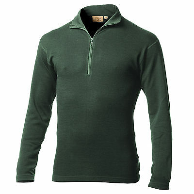 Minus33 Merino Wool Isolation Midweight 1/4 Zip Top (Forest Greenl)