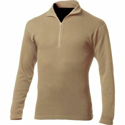 Minus33 Merino Wool Isolation Midweight 1/4 Zip Top (Desert Sand)