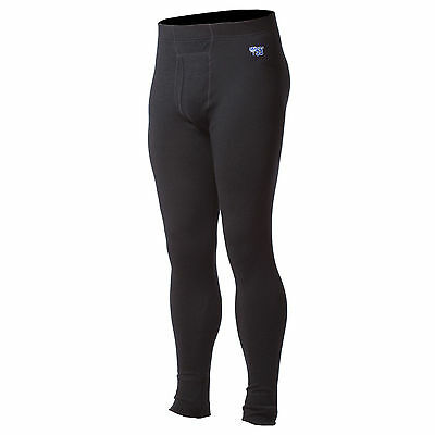 Minus33 Merino Wool Kancamagus Midweight Long Bottoms (Black)