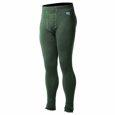Minus33 Merino Wool Kancamagus Midweight Long Bottoms (Forest Green)