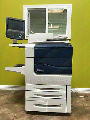 Xerox Color 570 Digital Press Production Printer Copier Scanner 75PPM 250K