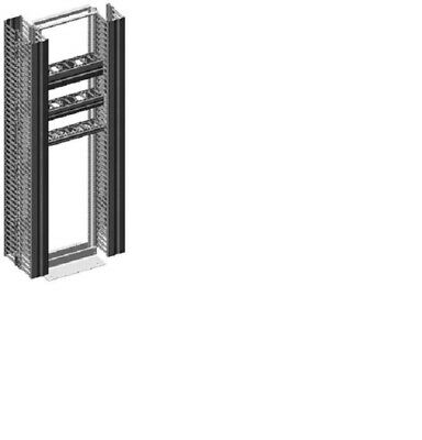 Chatsworth Velocity Double-Sided Vertical Cable Manager, P/N 13911-703: