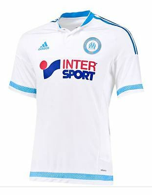 New Genuine Adidas Olympique de Marseille 2015/16 Home Shirt Adults XL