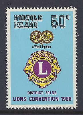 1980 Norfolk Island Lions Convention Unmounted Mint Mnh/muh
