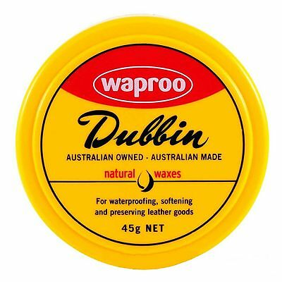Joseph Lyddy Dubbin Neutral 45G Waterproofing Leather Booth Polish Protector
