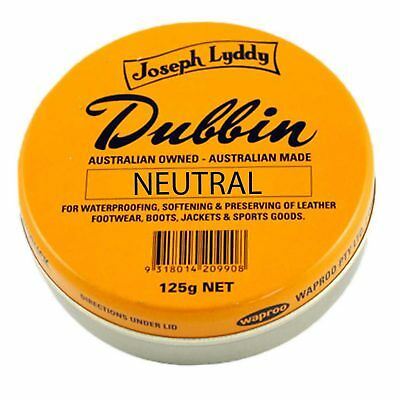 Joseph Lyddy Dubbin Neutral 125G Waterproofing Leather Boot Polish Protector