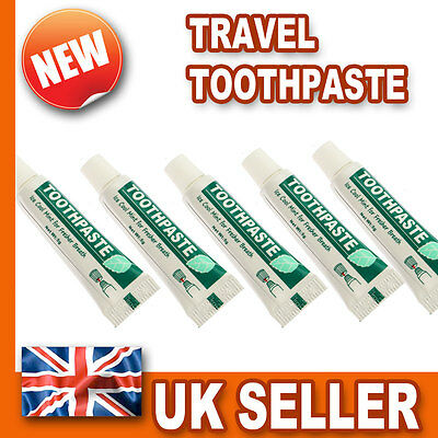 Travel Size Toothbrush Toothpaste - Holiday Wash Pocket Handbag Bag - Multi Buy