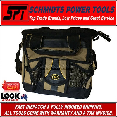 CLC CUSTOM LEATHERCRAFT TOOLWORKS 1538 TECHNICIANS TOOL CARRIER BAG With STRAP