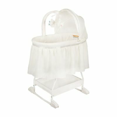 NEW Childcare Deluxe Baby Bassinet Crib My Little Cloud #`036510-333