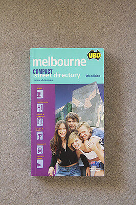 Melbourne Compact Street Directory UBD 7th Edition