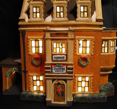 58329 Department 56 Dickens Village Dursley Manor Never Opened - Mint New