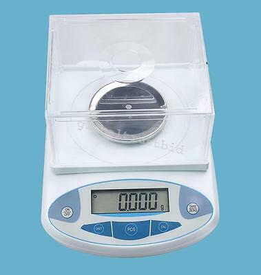 200 x 0.001g 1mg Lab Analytical Balance Digital Precision Scale & Power Cable