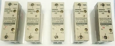 5 PCS pieces Omron SSR Solid State Relay G3PA-210B-VD DC 5 - 24 v  10 A 220 v