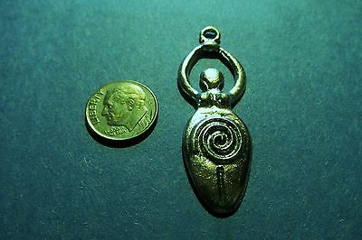 Dozen Wiccan  Fertility Goddess  Pendants 2 Inches Long