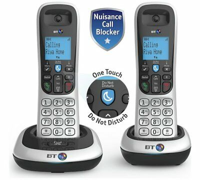 Bt 2200 Twin Digital Cordless Home Phone With Speaker Phone & Caller Display