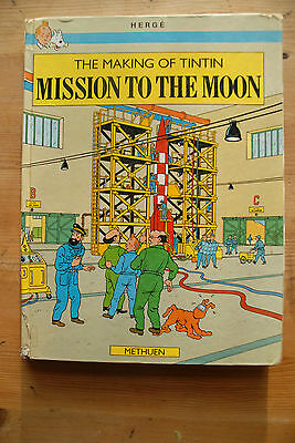 The Making of Tintin - Mission to the Moon Herge rare collectible hardback