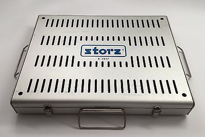 Storz Sterilization Tray E7417 with Delicate Instrument Insert
