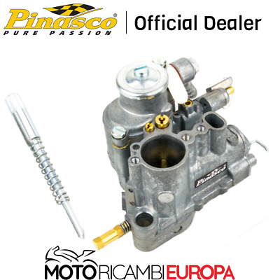 Carburatore Vespa Px 200 25294909 Pinasco 26/26 Er Racing Con Mix.