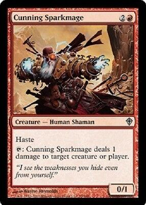 2x MTG: Cunning Sparkmage - Red Uncommon - Worldwake - WWK - Magic Card