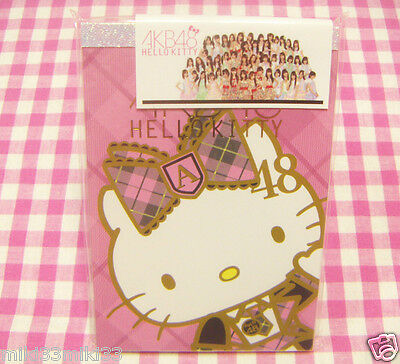 AKB48 Sanrio Hello Kitty Memo Pad / Made in Japan Stationery Pink