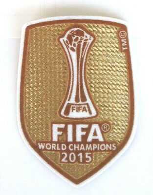 Barcelona 2015 Club World Champions Football Patch 2016-2017 FIFA Soccer Badge