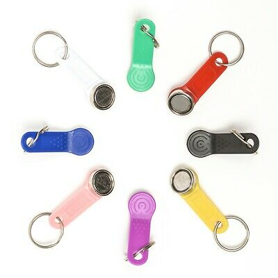 Dallas iButton Key Magnetic + Keyring - Choice Of Colour