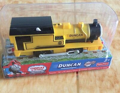 NEW Fisher Price Thomas & friend train trackmaster Battery train DUNCAN