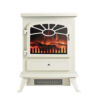 FOCAL POINT ES2000 Cream FREESTANDING ELECTRIC STOVE