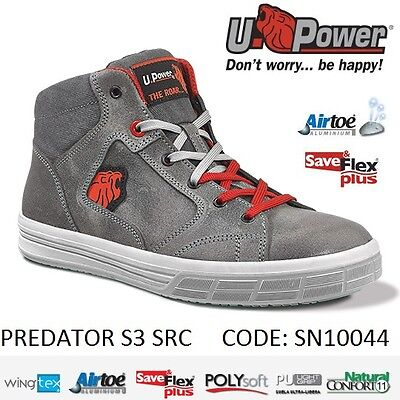Upower Scarpa da lavoro antinfortunistica PREDATOR S3 SRC U-POWER SN10044 -