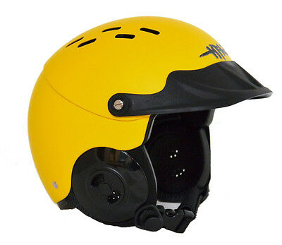 GATH Gedi Watersports Helmet with Peak (Yellow)