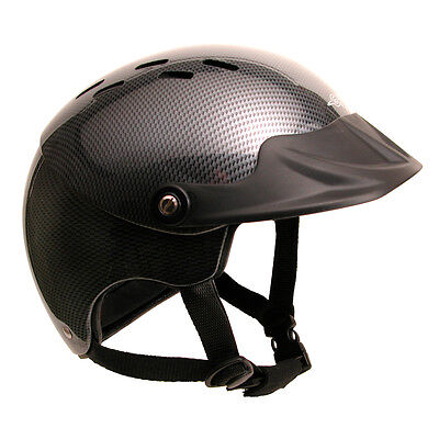 GATH Gedi Watersports Helmet with Peak (Carbon)