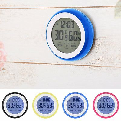 New LCD Digital Thermometer Hygrometer Indoor/Outdoor Temperature Humidity Meter