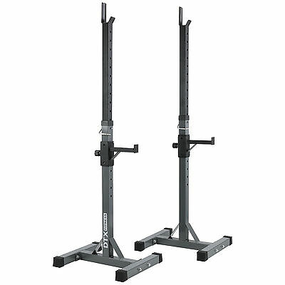 SALE DTX Fitness Adjustable Squat Rack With Spotters - DAMAGED #403