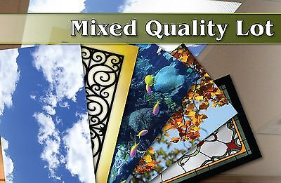 Wholesale Bulk Lot of 8 Mixed Quality Back Lit Films Posters Rollable Flexible 6
