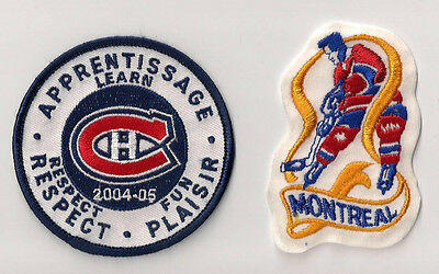Montreal Canadiens NHL Hockey Patches Lot of (2) ***LAST ONES***