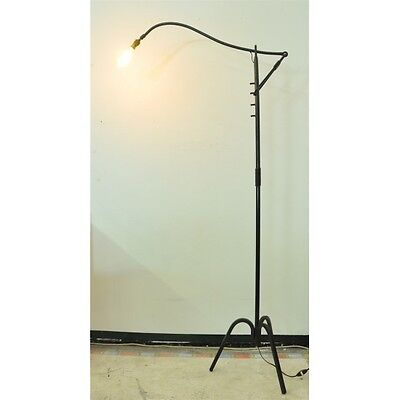 Lampadaire jean royere 1950 a cremaillere eur - Lampadaire fer forge interieur ...