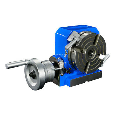 """4"""" Horizontal & Vertical Rotary Table (blue paint)"""