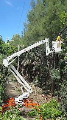 Easy Lift tracked spider lift 70-36AJ hybrid Arborist Package FREE SHIPPING