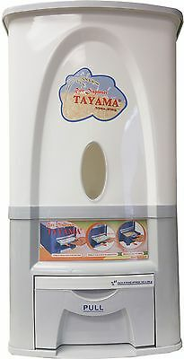 Tayama Rice Dispenser 25kg/50lbs Model PG-25 in Gray