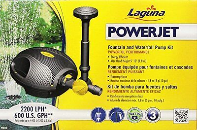 Laguna Power Jet Free Flo Fountain and Waterfall Pump for Garden Pond Pump