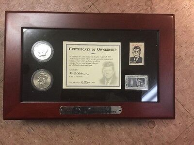 PCS Stamps & Coins JFK Kennedy 50th Anniversary  Memorial Tribute Commemorative