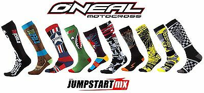 CHRISTMAS  Oneal Pro MX motocross downhill mountain bike knee high socks