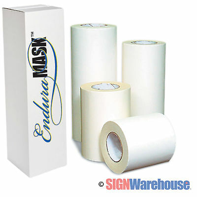 "24"" x 100 yds Enduramask Application Transfer Tape Vinyl Layflat Adhesive Signs"