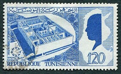 TUNISIA 1967 120m blue SG641 used NG EXPO Montreal National Day #W2