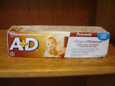 A + D Original Ointment Diaper Rash & Skin Protectant Ointment-4 Oz Tube